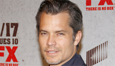 """Timothy Olyphant hands out fake """"Justified"""" spoilers: funny or tasteless?"""