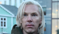 First image of Benedict Cumberbatch as Julian Assange: gross or dead-on?