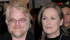 Meryl Streep wanted to kick Philip Seymour Hoffman's butt