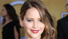Jennifer Lawrence in 'ripped' blue Dior at the SAGs: stunning or oops?