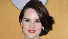 Michelle Dockery in vintage Ralph Rucci at the SAGs: gorgeous or not-so-classy?