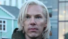 Julian Assange goes on a spoiler-filled rant about his bio-pic starring Cumberbatch