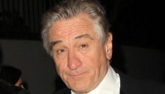 When Robert DeNiro has sex with you, he will look into your eyes the whole time