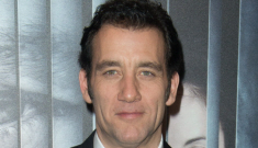 Clive Owen is 48 years old & sideburn-y in Paris: could Clive still get it?