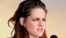 Is Kristen Stewart angry at Sparkles for not giving her enough attention?