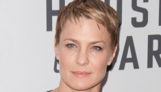 Robin Wright shows off her super-short pixie cut: really cute or not so much?