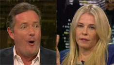 "Piers Morgan to Chelsea Handler: ""Either you've had plastic surgery or a makeover"""