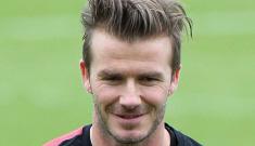"""David Beckham signs on to Paris Saint-Germain, Posh will be Parisian now"" links"