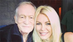 "Crystal Harris on if she has sex with husband Hugh Hefner: ""no comment"""