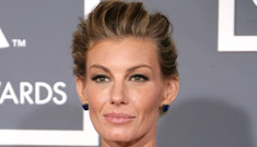 Faith Hill in J.Mendel at the Grammys: pretty or cheap?