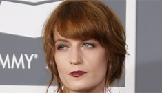 Florence Welch in shiny green Givenchy: so rock 'n' roll or too much?