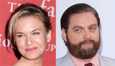 Zach Galifianakis & Renee Zellweger give a homeless woman apt & stock her fridge