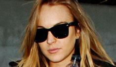 Sam Ronson and Lindsay Lohan had screaming match