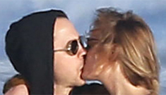 Giovanni Ribisi & Agyness Deyn all smoochy & loved up for the paps: odd?