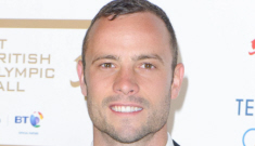 Oscar Pistorius claims he shot his girlfriend three times through a door 'by mistake'