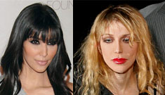 Kim Kardashion responds to what she understands of Courtney Love's rant