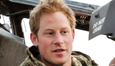 Prince Harry & Cressida Bonas are loved up in a Swiss ski chalet right now