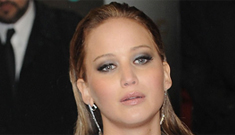 Is Jennifer Lawrence irritable, fighting with everyone due to Oscar exhaustion?