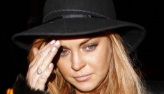 Lindsay Lohan's crackie lawsuit against Pitbull was thrown out of court (LOL)