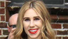 Zosia Mamet, Shoshanna on Girls, dyed her hair blonde: bad look for her?