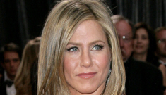 Jennifer Aniston in red Valentino at the Oscars: dated, boring or lovely?