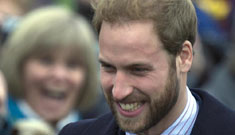 Prince William to shave scraggy beard