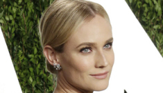 Were Diane Kruger & Joshua Jackson the cutest couple at the VF Oscar party?
