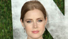 Amy Adams in fringed de la Renta at the VF Party: better than her Oscar dress?