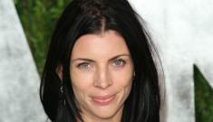 Liberty Ross went to the VF Oscar party in a see-through dress: so trashy?