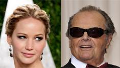 Jack Nicholson haunts a Jennifer Lawrence interview, JLaw has cutest reaction