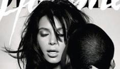 Kim Kardashian & Kanye West's L'Officiel Hommes cover: trashy or sexy?