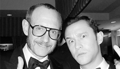 'Terry Richardson give us his creepy, birds-eye view of the VF Oscar party' links