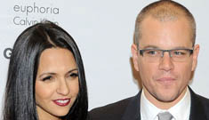 Matt Damon and wife Lucy plan destination vow renewal: uh-oh?
