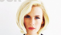 January Jones on placenta eating: 'It can help women with depression or fatigue'