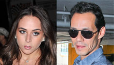 Is Marc Anthony, 44, dating that 21 yo British heiress to bring her into Scientology?