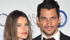 David Gandy is single again, he announces breakup with model Sara Ann Macklin