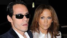 Are Marc Anthony and Jennifer Lopez planning a post Valentine's day split?