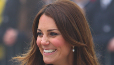 """Duchess Kate drops a """"D"""": did she accidentally hint that she's expecting a girl?"""