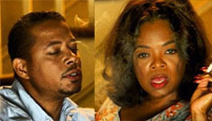 Terrence Howard enthuses about making out with Oprah and her 'tig 'ol bitties'