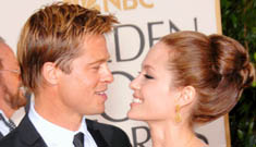 Angelina's mom's dying wish was for her daughter to marry Brad