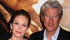 Richard Gere's wife is mad he rushed to comfort Diane Lane after her divorce filing