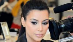"""Kim Kardashian got one of those stupid, trendy vampire facials"" links"
