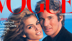 Cindy Crawford says she & Richard Gere split over their 17-year age difference