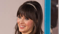 """""""Zooey Deschanel is engaged"""" morning links"""