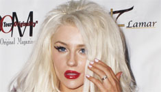 Courtney Stodden at a fashion show with her mom: so disturbing?