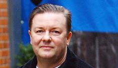 Ricky Gervais says England's full of losers
