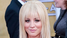 Kaley Cuoco regrets her SAGs bangs: A black eye would've been better