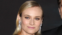 Diane Kruger in black Thakoon at 'The Host' premiere: lovely or boring?