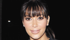 Kim Kardashian worried Kanye will cheat because she's gained '65 pounds'