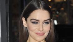 Emilia Clarke & Seth MacFarlane finally get around to officially breaking up